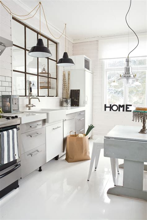 Ikea Wood Kitchen Cabinets by 59 Cool Industrial Kitchen Designs That Inspire Digsdigs