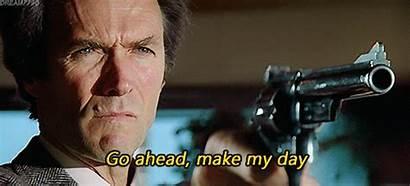 Harry Dirty Eastwood Clint Gifs Ahead Callahan