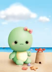 Turtle Baby Cute Kawaii Drawings