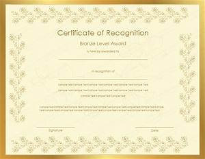 26 images of certificate of appreciation template for With recognition of service certificate template