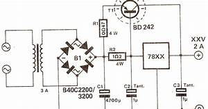 Electronics Projects  Deriving High Current From 7805