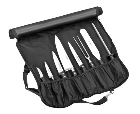 malette couteau de cuisine malette bargoin pour cuisinier 5 couteaux 3 ustensiles