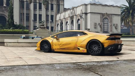 Lamborghini Huracan Modification by Gta 5 Liberty Walk Lamborghini Huracan Lp610 4 Mod