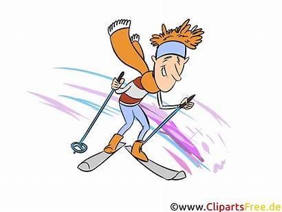 Clipart Skifahren Winter Bild Ski Skiing Hiver