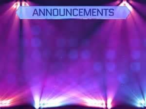Church Announcements PowerPoint