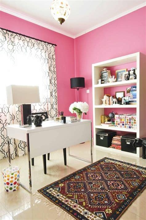 pink modern office ideas  girl homemydesign