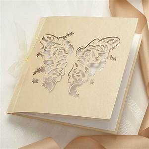 3d butterfly diy invitation kit 10 pack confetticouk With wedding invitation kits sale