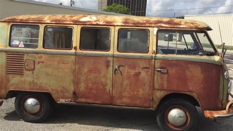 Vw Bus Van Vintage Volkswagen Bus