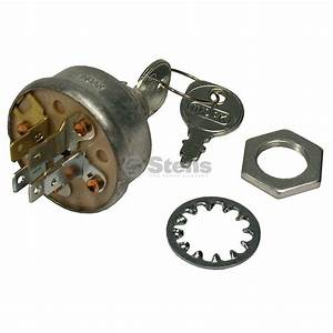 Ignition Switch For Sears Craftsman Std365402 W  Keys