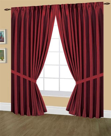 elaine faux silk pinch pleated lined drapes width