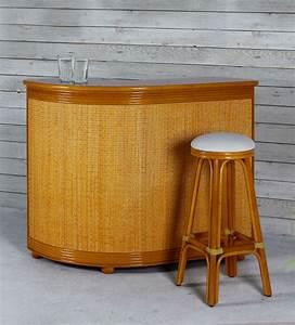 Tabouret De Bar Osier : meuble bar en rotin brin d 39 ouest ~ Teatrodelosmanantiales.com Idées de Décoration