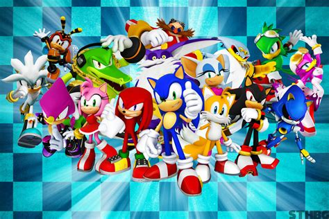 [49+] Sonic Characters Wallpaper on WallpaperSafari