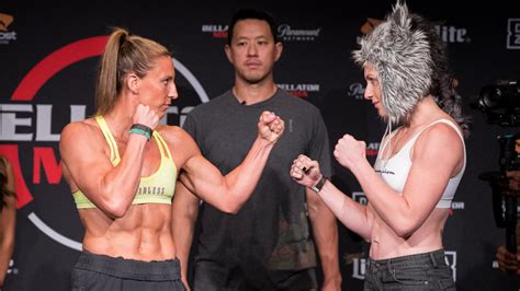 bellator  julia budd  olga rubin fight card