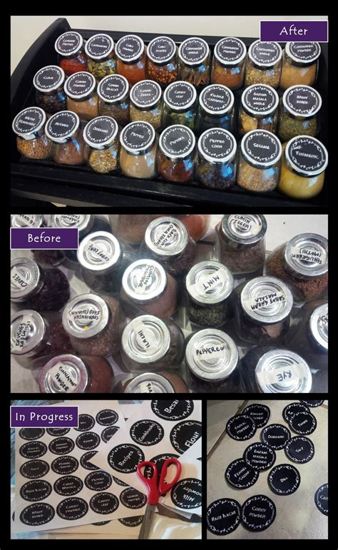 Spice Rack Stickers 25 best ideas about spice jar labels on spice