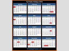 Fiji Public Holidays 2018 – Holidays Tracker
