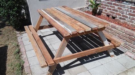 picnic table plans  ft woodworking projects plans