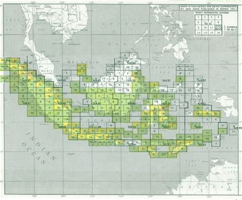 indonesia ams topographic maps perry castaneda map