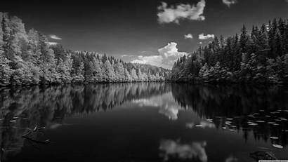 Forest Lake 4k Wallpapers Desktop Finland Background