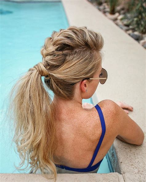Summer Ponytail Hairstyles by 10 Creative Ponytail Hairstyles For Hair Summer