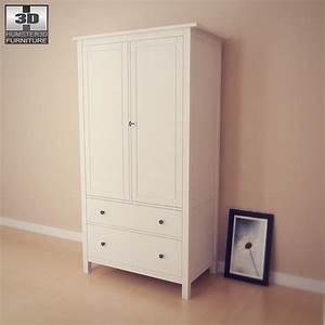 Ikea Couchtisch Hemnes : ikea hemnes wardrobe 3d model humster3d ~ Orissabook.com Haus und Dekorationen