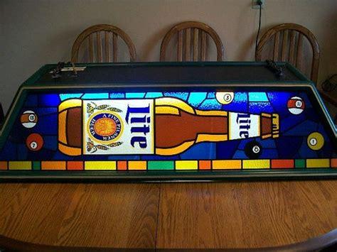 miller lite pool table light miller high life vintage pool table light