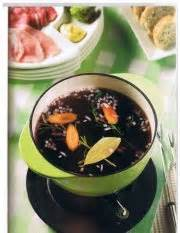 cuisiner viande à fondue bouillon pour fondue à la viande recettes québecoises