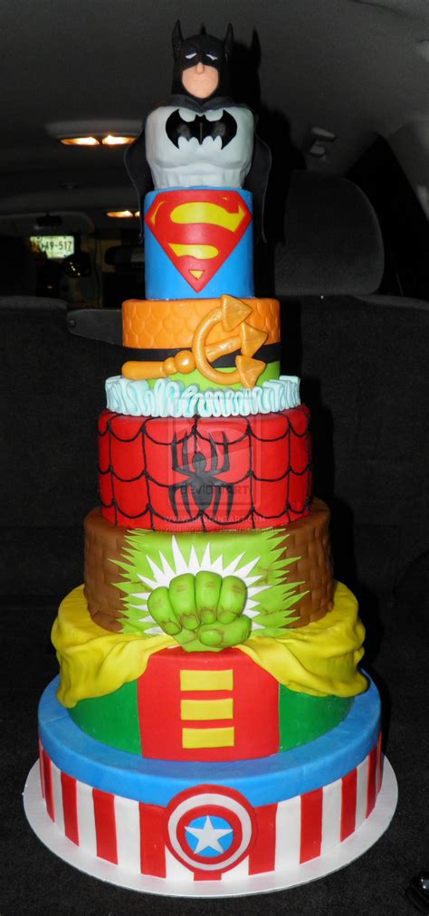single layer super hero cake ideas  super hero super