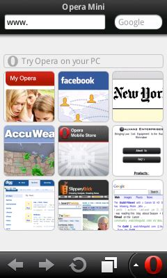 anything android opera mini app review