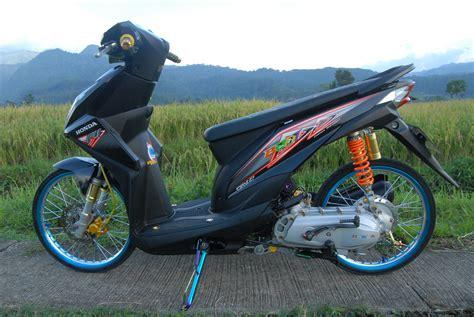 Modif Honda Beat by Modif Honda Beat Standard Terkeren Botol Modifikasi