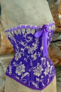 Purple Steampunk Corset