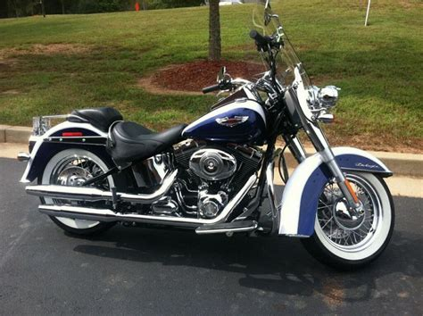 2007 Harley Davidson Softail Deluxe by Buy 2007 Harley Davidson Softail Deluxe Cruiser On 2040 Motos