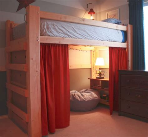 bunk bed idea 19 cool adult loft bed with stairs designs