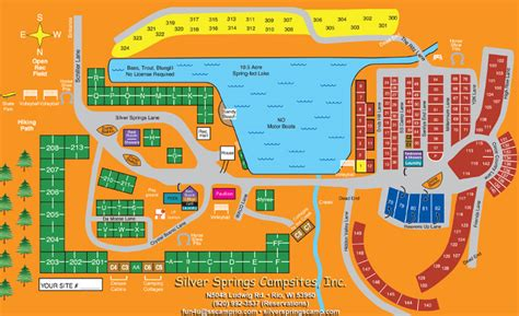Silver Springs Campsites, Rio Wisconsin