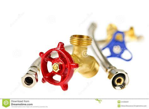plumbing supply parts plumbing parts stock image image 24493291