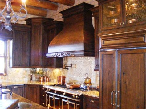ornate kitchen cabinets rustic and mediterranean 1281