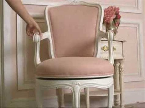 shabby chic desk chair vintage shabby chic style swivel office chair in pink and