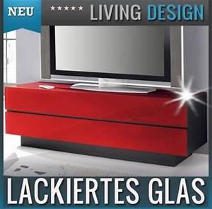 Lowboard Mit Glasfront : neu edles lowboard mit glasfront in rot tv rack kommode ~ Pilothousefishingboats.com Haus und Dekorationen