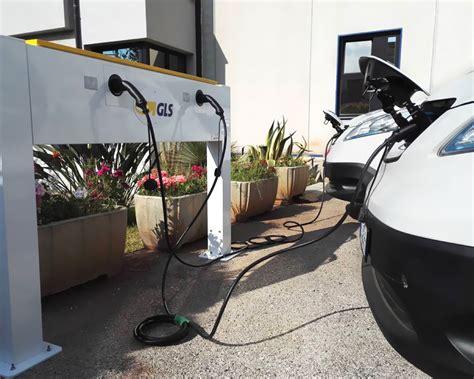 Sede Gls Stazione Di Ricarica Per Auto Elettriche Evo Car