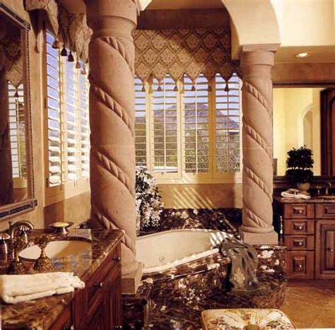 Tuscan Style Bathroom Decor by Tuscan Bathroom Design Ideas Simple Home Architecture Design