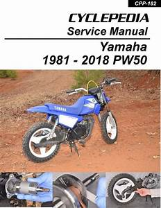 Yamaha Pw50 Service Manual  1981