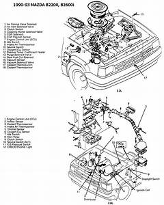 1986 Mazda B2000 Carburetor Diagram