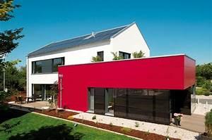 Haus Mit Satteldach : generation x von fischer haus mit satteldach und farbigem anbau haus architektur ~ Watch28wear.com Haus und Dekorationen