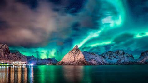 追寻挪威璀璨极光,高清壁纸,风景图片-回车桌面