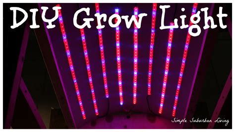 Diy Led Grow Lights. Diy $ Led Grow Light Youtube. Diy