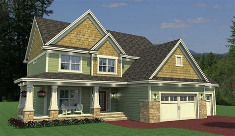 Craftsman House Plan With Sunroom 14642rk
