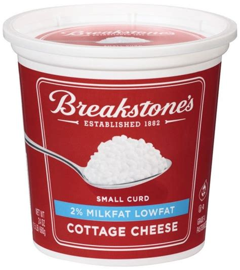 cottage cheese 2 breakstone s 2 cottage cheese mix of trix