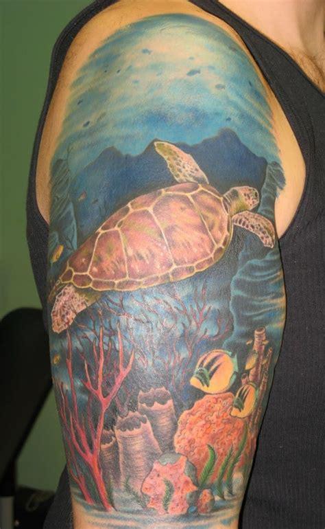 simple  small sea turtle tattoos design  meanings