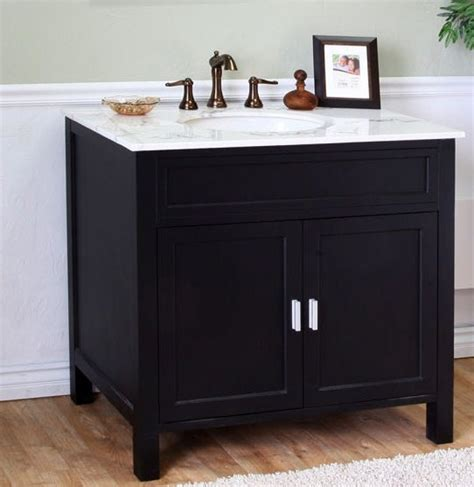 single sink bathroom vanity  ebony uvbhb