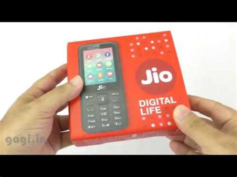 jio phone unboxing in depth overview rs 1500 phone doovi