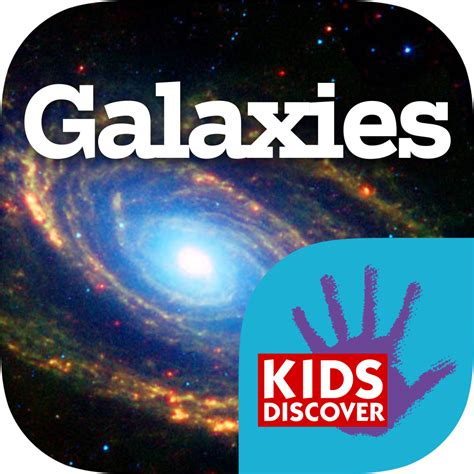 galaxies  ipad kids discover